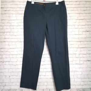 TORY BURCH dark blue cropped pants
